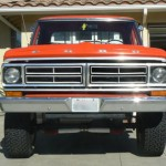 1972 Ford F250 4x4 front