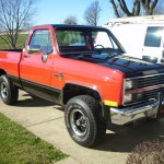 1984 Chevy K10 4x4 Front