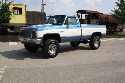 1984 Chevy K20 4x4