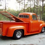 1954 Ford F100 bed