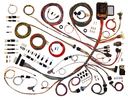 1961-66 Ford Truck Classic Update Wiring Kit
