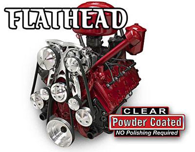 Ford Flathead Serpentine Conversion