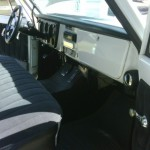 1972 Chevy C10 Pickup Truck Interior