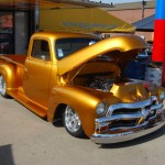 1954 Chevy 3100 With 502 BBC with Tri-Power - 700R4 Trans & Air Ride