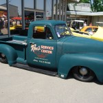 The shop truck theme could be seen in all of its creative glory! Maybe the shop truck theme is a sign of the times, but they're really fun!