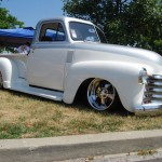 1948 Chevy & one of the nicest trucks at the event!