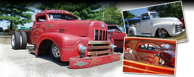 Classic Trucks Invade Goodguys Event - Columbus, Ohio