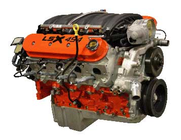 Pace Exclusive LSX454 585HP Crate Engine
