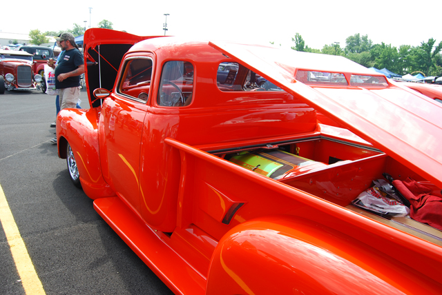 One of a Kind 1948 Chevy Truck With Mid-Engine Corvette Running Gear
