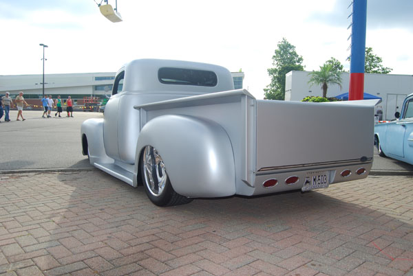 1954 Chevy truck with custom bed