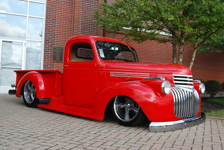Scrapin' 46 Chevy