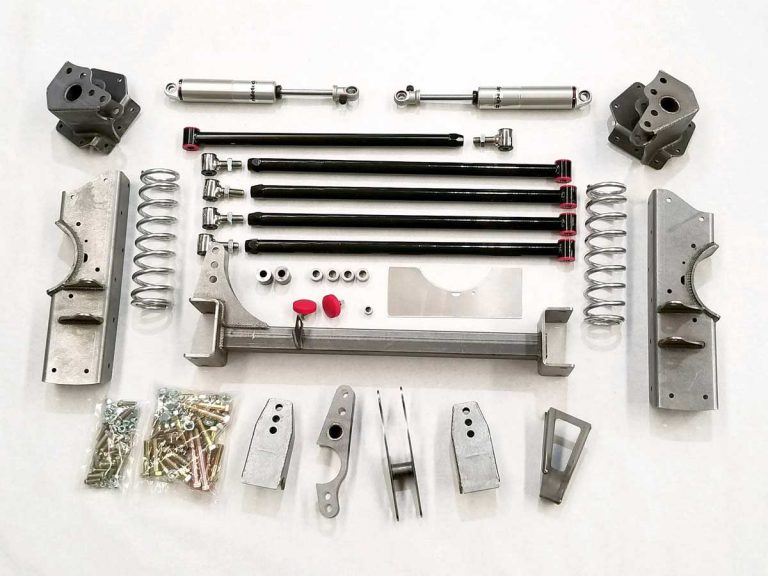 No Limit Engineering Adds New Fatbar 4-Link For 73-87 C-10 Trucks