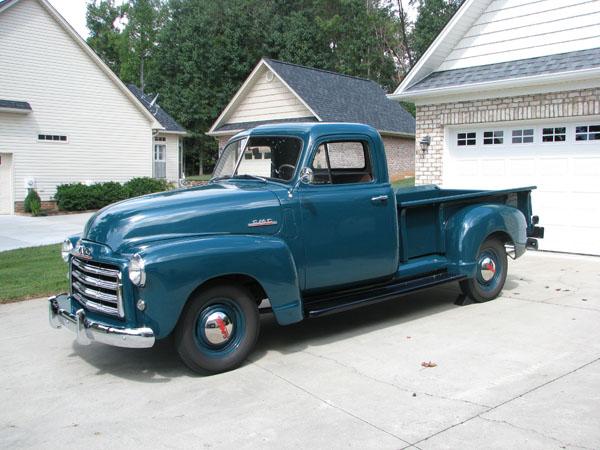 A True American 1950 GMC Farm Truck