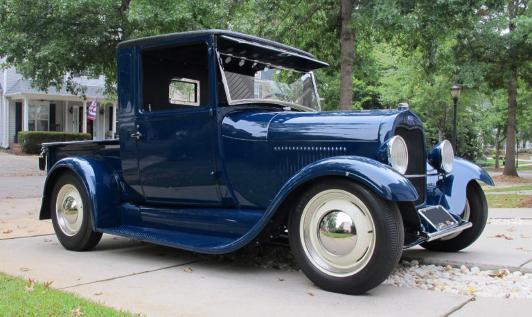 1929 Ford Model A Closed Cab Pick-up Traditional Hotrod
