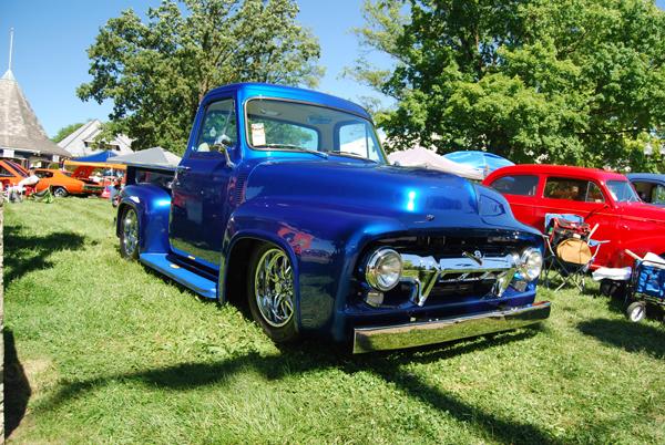 True Blue 1954 Ford F100