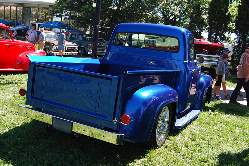 Blue 1954 Ford F100 Truck