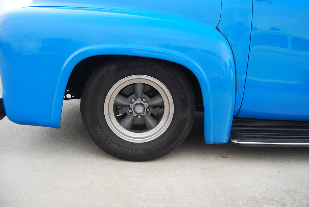 54 Ford F100 with 56 Grille - Light Blue