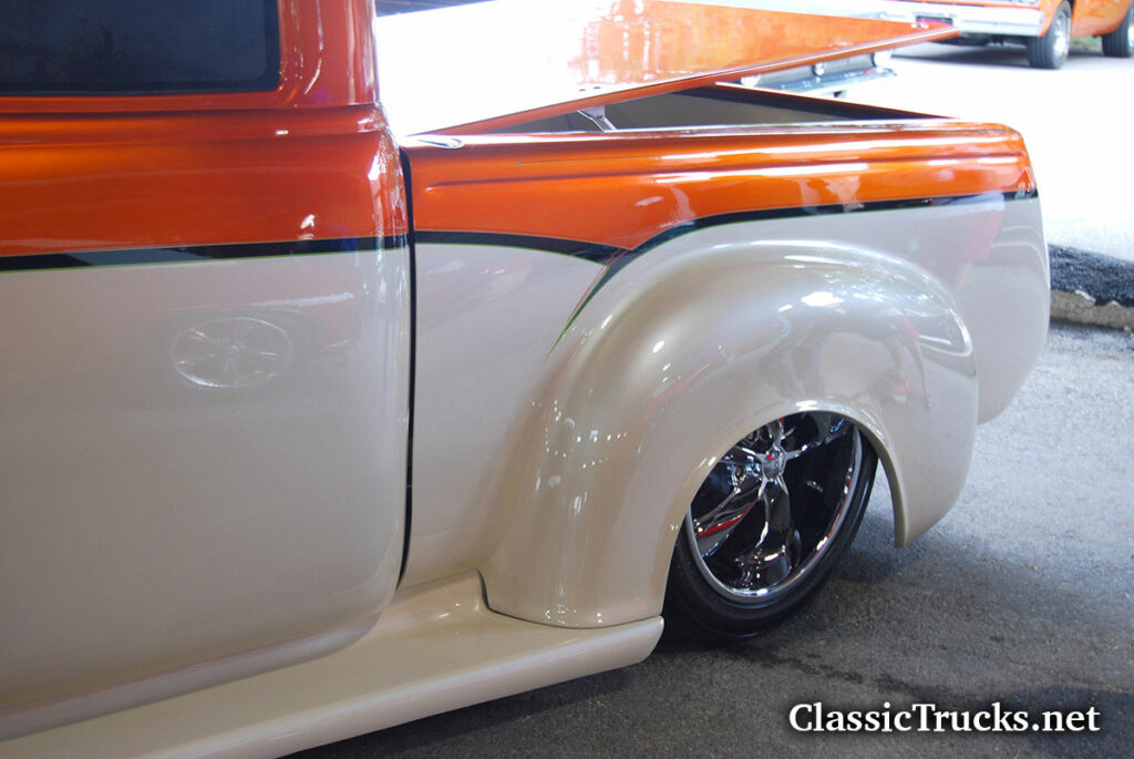 Custom 48 Chevy Extend Cab Truck