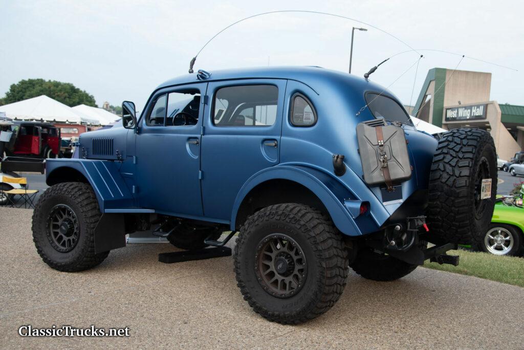 1956 Volvo TP21 Swedish Army All-Terrain Radio Car