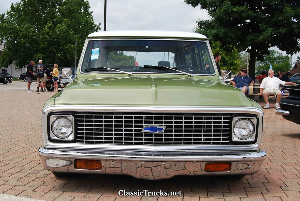 1972 Chevy Suburnan